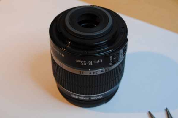 Canon EOS 450D / Rebel XSi: How to repair the defective