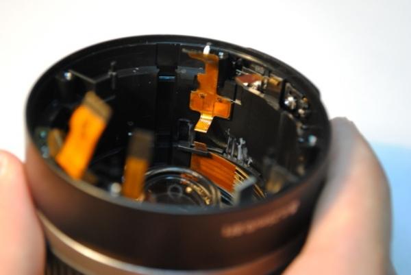 Canon EOS 450D / Rebel XSi: How to repair the defective autofocus